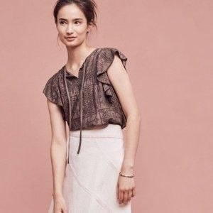 Anthropologie top by Hiche